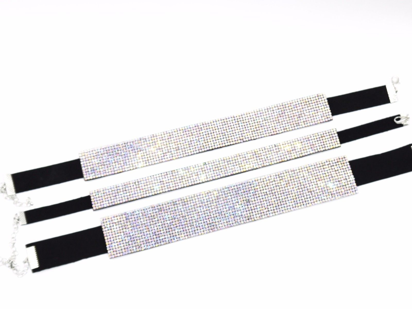 RHINESTONE SPARKLING CHOKER FULL CRYSTAL NECK COLLAR PARTY FASHION NECKLACE 2017