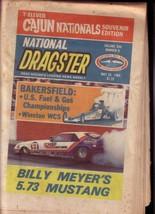 NATIONAL DRAGSTER-NHRA-5/25/84-B.MEYER-CAJUN NATLS- VG - $37.25
