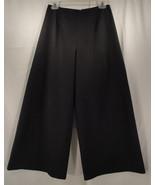 Extra Wide Leg Palazzo Flare Pants Black Handmade Ladies 28 inch waist 2... - $8.99