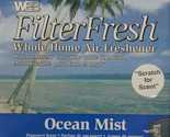 Filter Fresh Scented Air Filter Pads Ocean Mist Qty 1