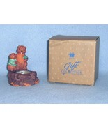 Avon Fireside Friends Candle Holder Autumn Spice Candle - $4.99