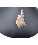 S.S. Pendant  of Fossilized Bone (WP38) - $65.00