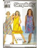 Vintage 1990 Simplicity #9743 Misses' Pullover ... - $9.00
