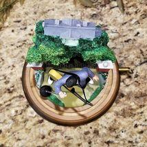 Franklin Mint Elvis Presley Graceland Love Me Tender Music Box Glass Dome Figure image 7