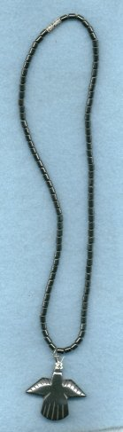 Primary image for HEMATITE THUNDERBIRD NECKLACE