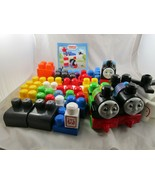Mega Bloks Thomas Train Percy Harold Blocks Lot - $24.95