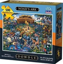 NOAH'S ARK - Traditional Puzzle - 500 pieces