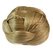 Braided Hair Bun Hair Piece Updo Braided Hairpiece Hair Clip Women Girls Wig Par