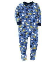 Carters NWT 18 Month Footed Fleece One pc Pajama Baby Boys New W/O Tag S... - $10.45