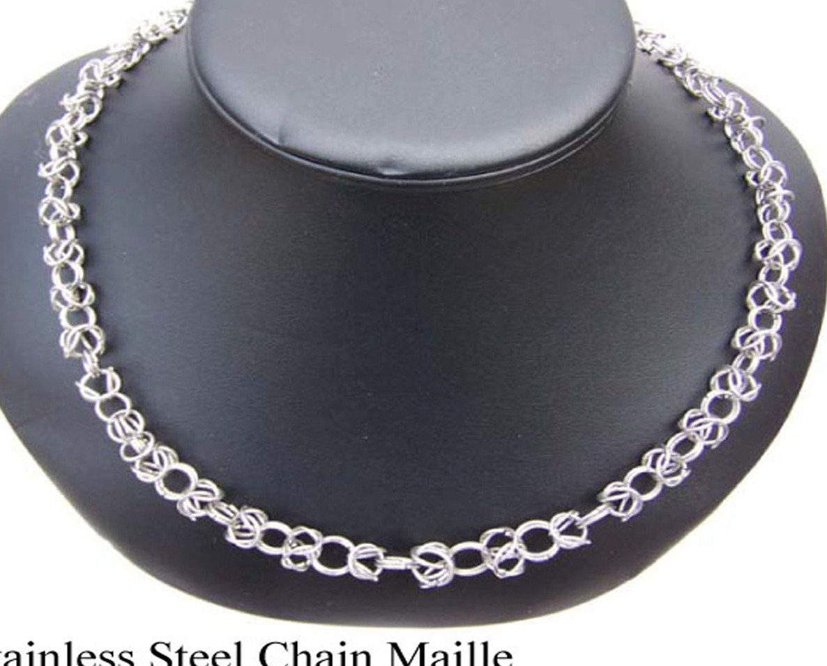Stainless Steel Chain Open Byzantine(C15)