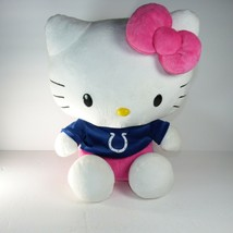 "Sanrio Hello Kitty plush stuffed animal Doll Indianapolis colts 17"" Forever - $24.74"