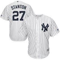 Men's New York Yankees Giancarlo Stanton White Polyester Cool Base Playe... - €46,70 EUR