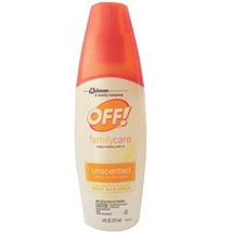 OFF! Family Care Unscented With Aloe Vera 6 oz Pack of 3