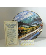 The Empire Builder Golden Age American Railroads Collectible Plate Ted X... - $78.39