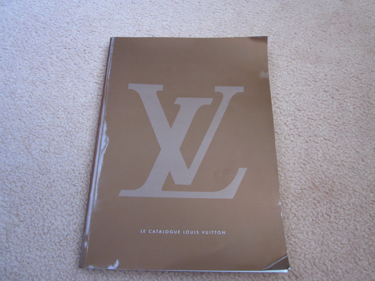 Primary image for Louis Vuitton Catalog - copyright 2002