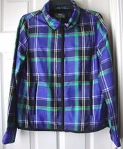New Lauren L-RL Lauren Women Active Windbreaker Jacket Size M MSRP $169.00 - $87.11