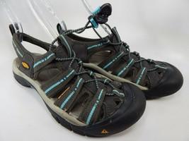 Keen Newport H2 Size 8.5 M(B) Ue 39 Femmes Extérieur Sandales Sport Corbeau - $50.79