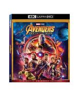 Avengers Infinity War (4K Ultra HD+Blu-ray, 2018)  - $14.95