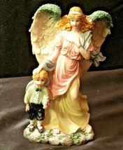 Pair of Angel Figurines in box AA-192051 Vintage image 8