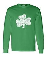 St. Patrick's Day Distressed Shamrock Unisex Crew Sweatshirt -2 XL Irish... - $26.62