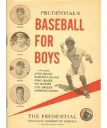 1955 baseball for boys prudential insurance company of america roberts k... - $35.99