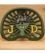 Reproduction, Collectible Cast Iron John Deere 1847 Painted Green Tracto... - $59.39