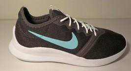 Nike size 7.5 VIALE TECH RACER VTR Grey Green Running Sneakers New Women... - $107.91