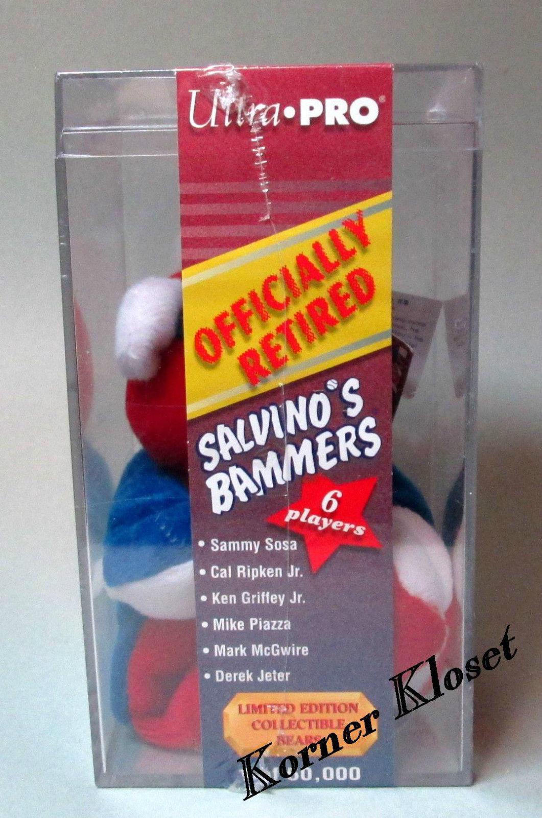 Derek Jeter Ultra-Pro Limited Edition Salvino's Bammers Plush Bear - MLB - NIB