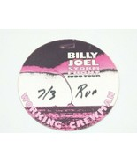 Billy Joel Storm Front 1990 Tour Working Crew Badge Canvas Sticker Rare - $17.41