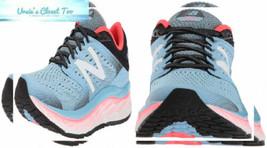 New Balance Women's 1080v8 Fresh Foam Running Shoe 5.5 Wide, Light Blue - $54.38