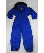 COULOIR SKI SUIT One Piece Full Zip Snow Bib Snowsuit Size 12 Gently Use... - $74.79