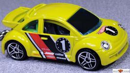 Nice Gift Key Chain Yellow Vw New Beetle Volkswagen Bug Custom Limited Edition - $19.98
