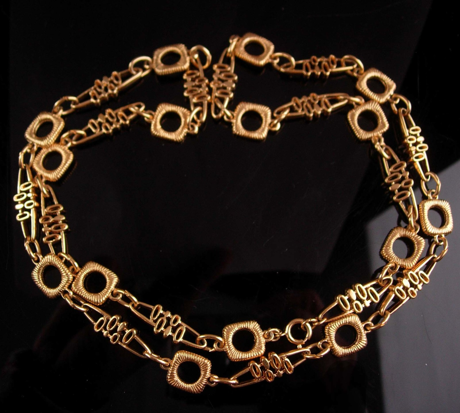 Ornate Trifari Necklace - couture Modernist design -  Mother of the Bride Gift -