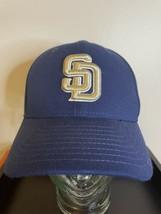 SD San Diego padres Blue New Era Strapback Hat  - $15.74