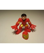 Marvel Super Hero Squad Iron Man Tony Stark Red Yellow Armor 2009 - $6.99