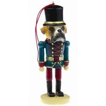BOXER UNCROPPED DOG CHRISTMAS ORNAMENT NUTCRACKER SOLDIER HOLIDAY XMAS 5... - $12.98