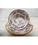 Royal Albert Fine China May Blossom Teacup and Saucer Set - $34.90