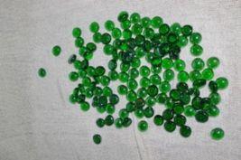 Iridescent Green Decorative Glass Gems Stones Pebbles Home Decor - $5.99