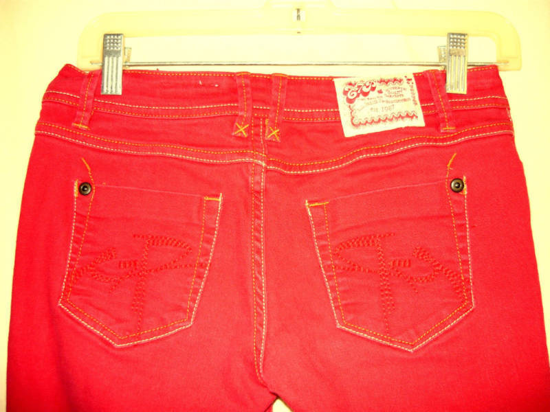 Chip and Pepper Red Jeans-1