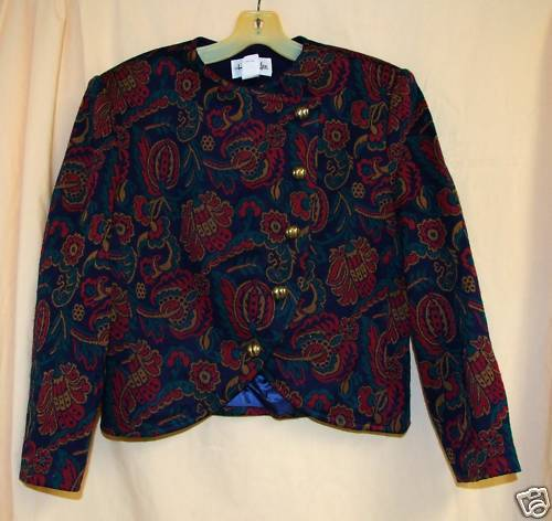 1960's Paisley Beautiful Suit Jacket 38