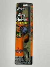 Scripto CAMO BUTANE LIGHTER BBQ Grill Fireplace Aim Flame  - $10.98