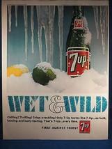 Vintage Revue Annonce Imprimé Design Publicité 7-Up Soda Pop - $12.82