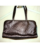 Victoria Secret Brown faux Ostrich Bag  - $14.88