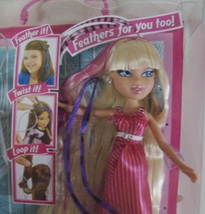 Bratz Featherageous Cloe doll ( Monster High Liv Barbie ) - New - $35.00