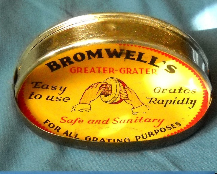 Vintage Bromwell's Greater Grater New old Stock