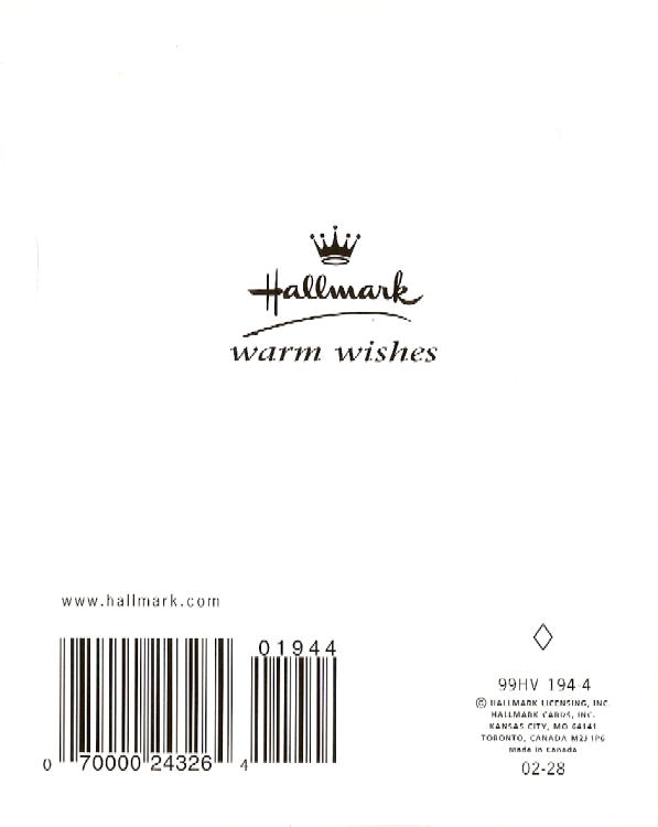 "Hallmark Halloween Card ""Boo!"" NEW"