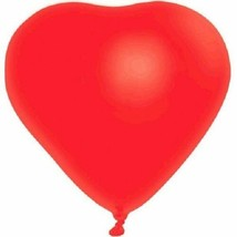 "Red Heart 6 12"" Latex Balloons Party Valentine's Day Anniversary - $2.99"