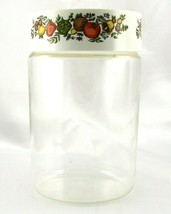 Pyrex Spice of Life 1.75 Qt Store n See Canister w/ Plastic Lid ~ Made i... - $18.95