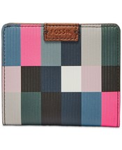 Fossil Women's Emma RFID Bifold Mini Wallet, Bright Multi $40 - $31.49