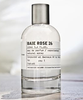BAIE ROSE 26 by LE LABO 5ml Travel Spray Perfume CEDAR CLOVE MUSK B26 EXCLUSIVE